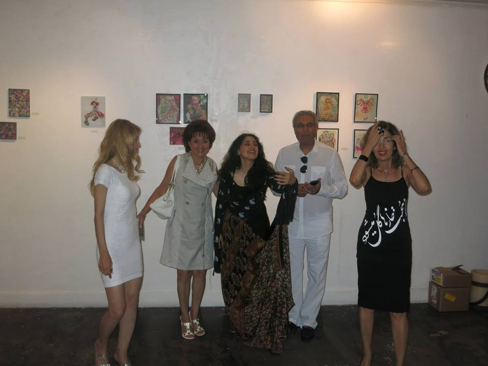 Performance Art at Seyhoun Gallery