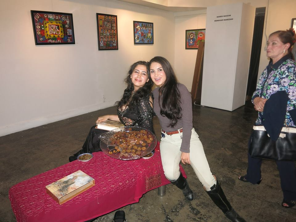 Performance Art at Seyhoun Gallery with Saye Yabandeh
