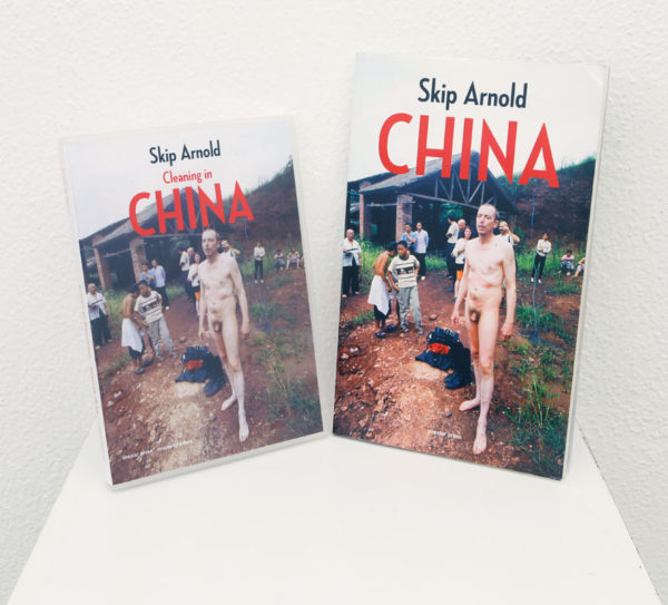 Skip Arnold Title: Skip Arnold China (book) and Cleaning in China (DVD) Medium: Book, DVD Date of work: 2001/2004 Edition: 250 Size: Signed verso Retail value: $90 Winning Bid: $25.00