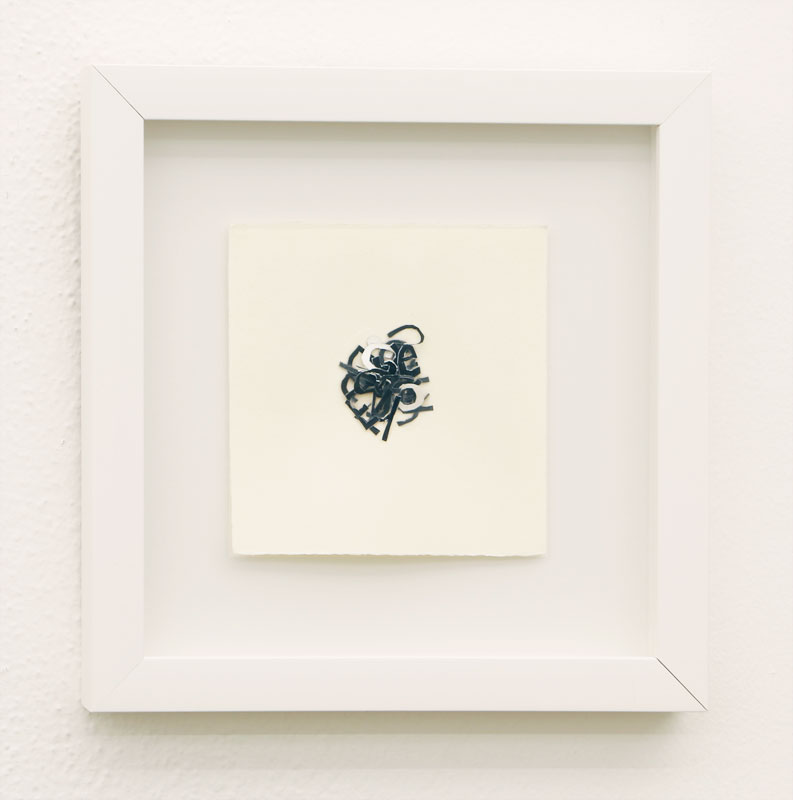 """Annie Buckley Title: Language Medium: photo/text Date of work: 2012 Size: 9.5"""" x 9.25"""" (framed) Signed verso and framed Retail value: $600"""