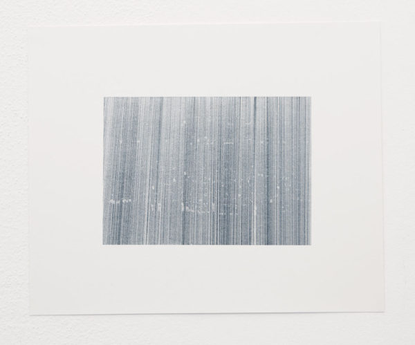 "Chris Oatey Title: Untitled Medium: carbon on paper Date of work: 2008 Size: 14"" x 16"" Signed verso Retail value: $900"