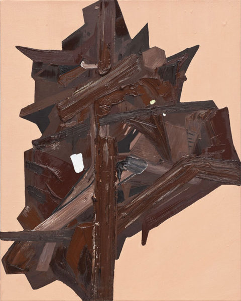 "Andrew West Title: Zahn Medium: oil on canvas Date of work: 2010 Size: 20"" x 16"" x 1.5"" Signed verso Retail value: $1800"